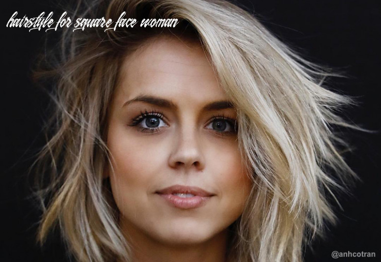 12 perfect medium hairstyles for square faces in 12 hairstyle for square face woman