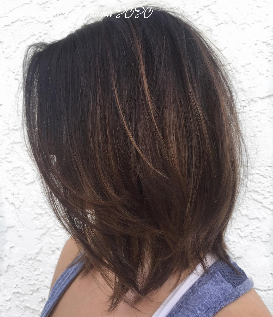 12 Perfect Medium Length Hairstyles for Thin Hair in 12