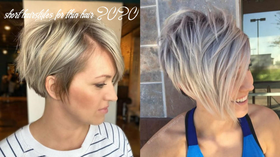 12 perfect short hairstyles for fine hair | stylesrant short hairstyles for thin hair 2020