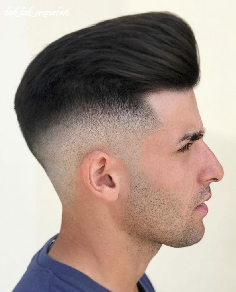 12 pompadour hairstyle variations comprehensive guide high fade pompadour