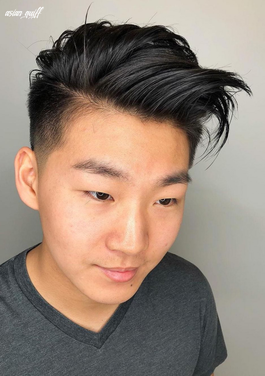 12 popular and edgy asian hairstyles for men styleoholic asian quiff