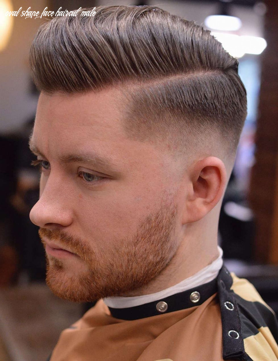12 popular haircut that makes a man handsome with an oval face