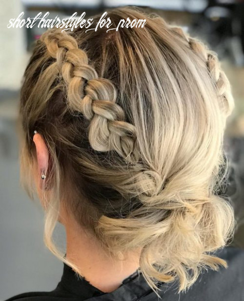 12 prom hairstyle for short hair in 12 is here ( 127 more) short hairstyles for prom