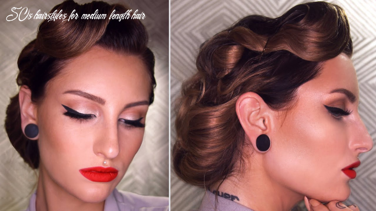 12's INSPIRED VINTAGE UPDO HAIRSTYLE TUTORIAL