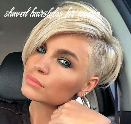 12 shaved sides haircut female ideas in 12 shaved hairstyles for women