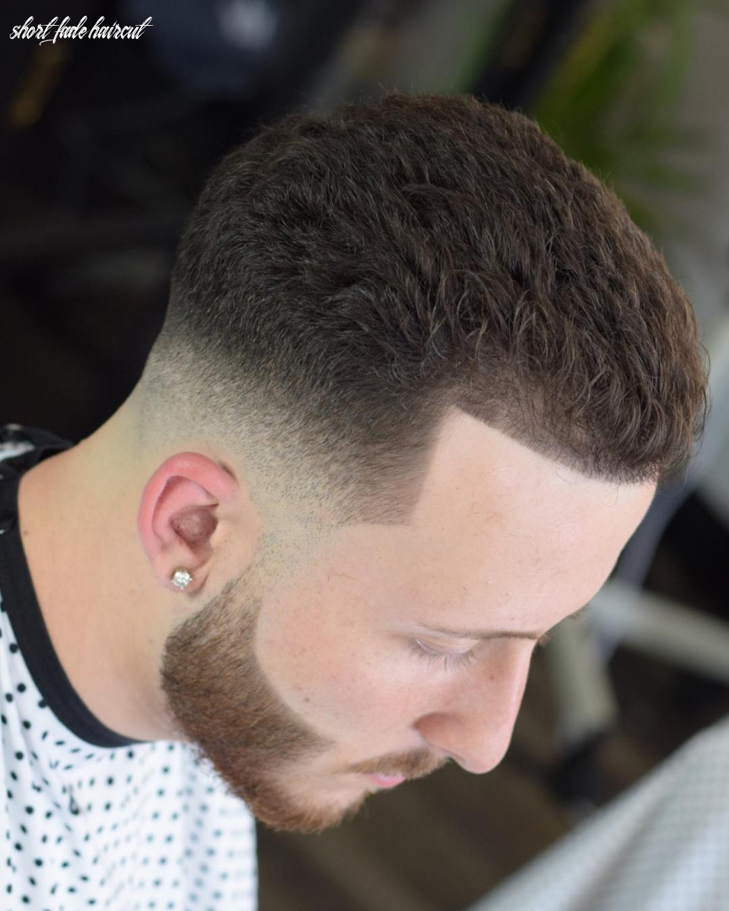 12 short fade haircuts for guys to make a style statement