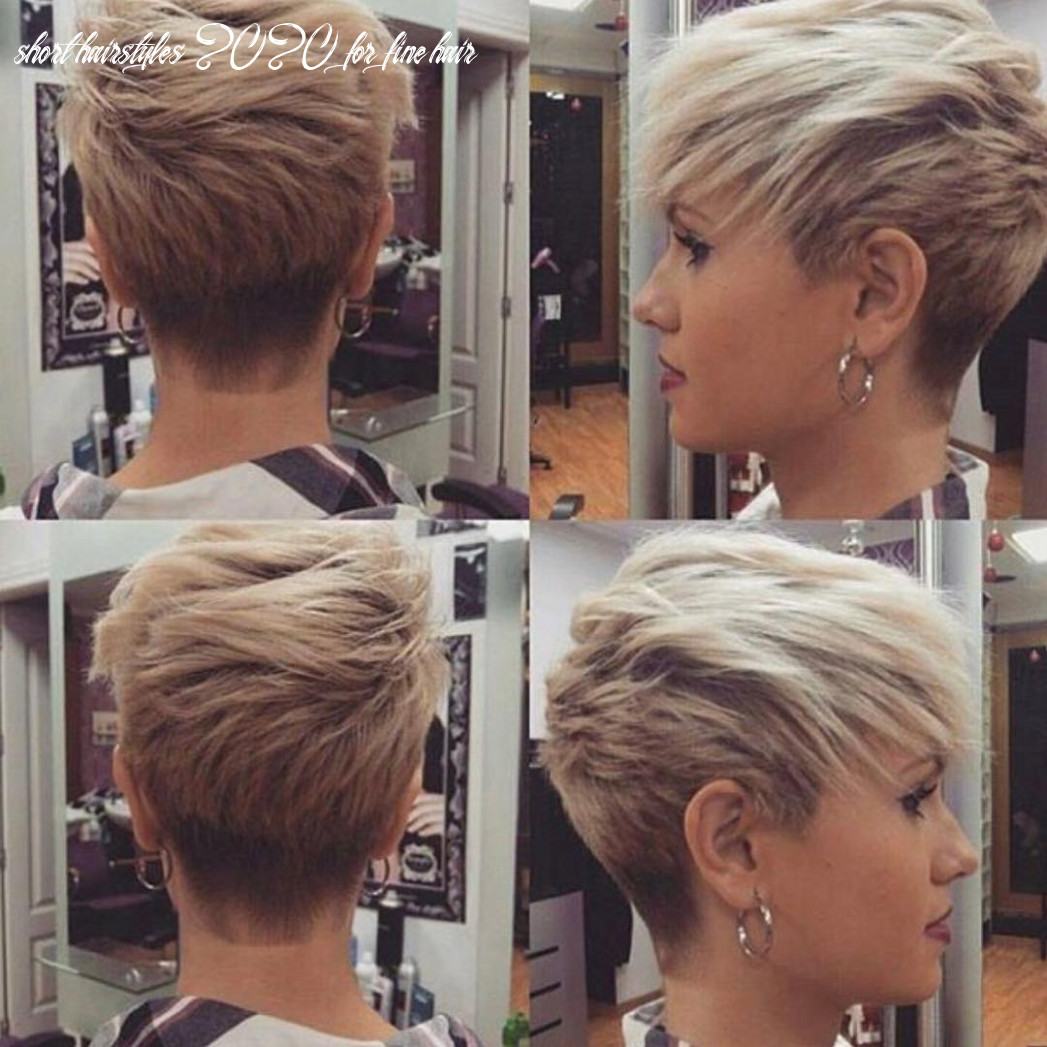 12 short haircuts for fine hair 12: great looks from office to