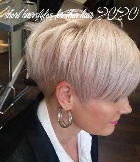 12 short haircuts for fine thin hair to rock in 12 checopie short hairstyles for thin hair 2020