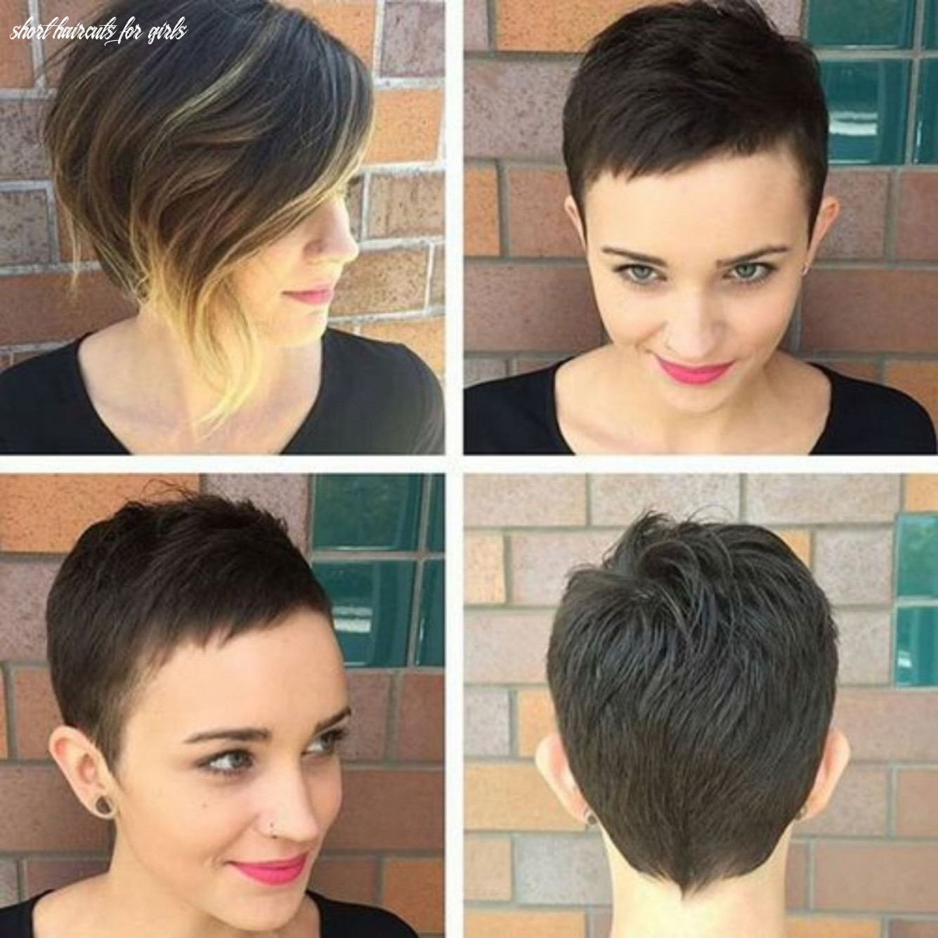12 Short Haircuts for Girls with Added Oomph | Girls short haircuts