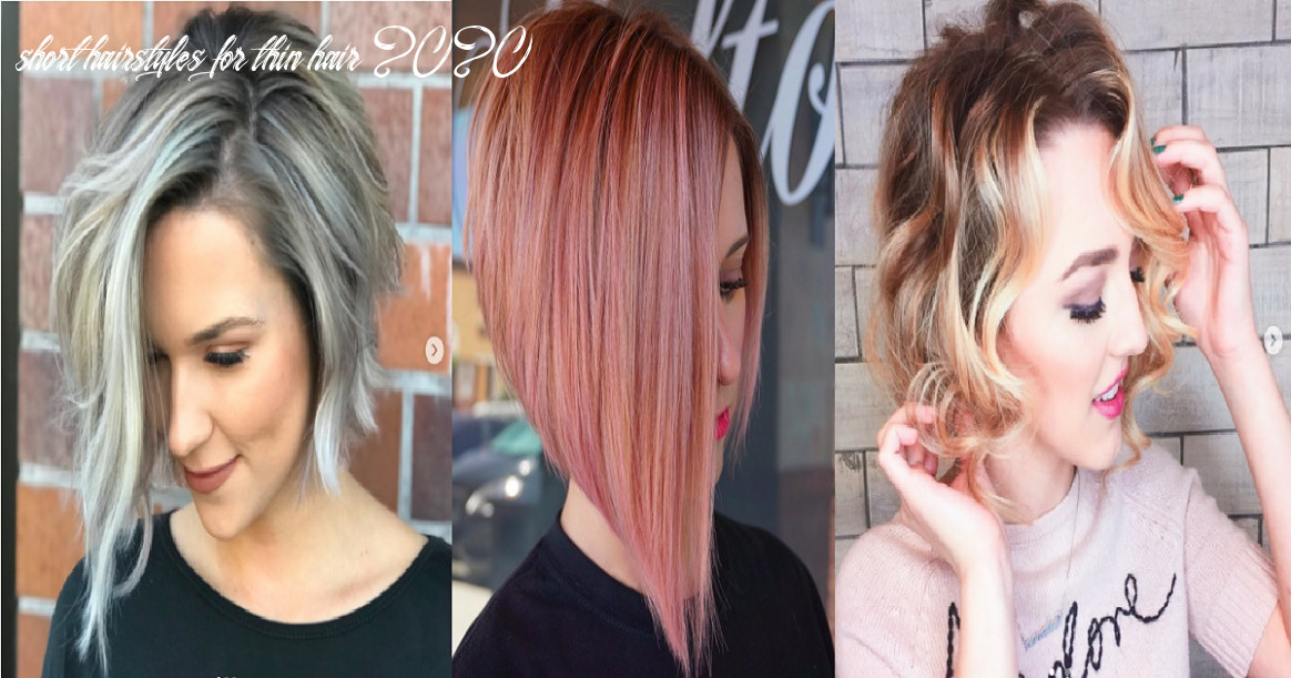 12 short hairstyles for fine hair 12 hairs