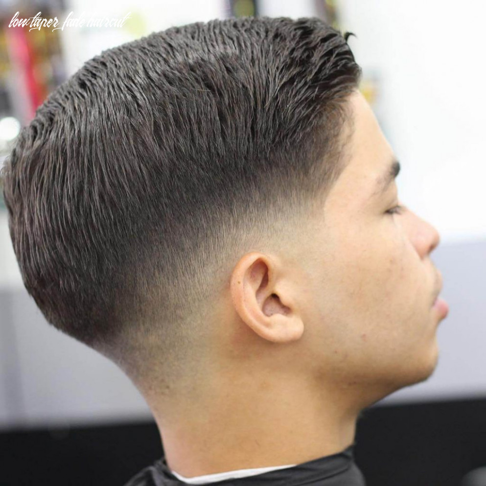 12 short on sides long on top haircuts for men | man haircuts low taper fade haircut