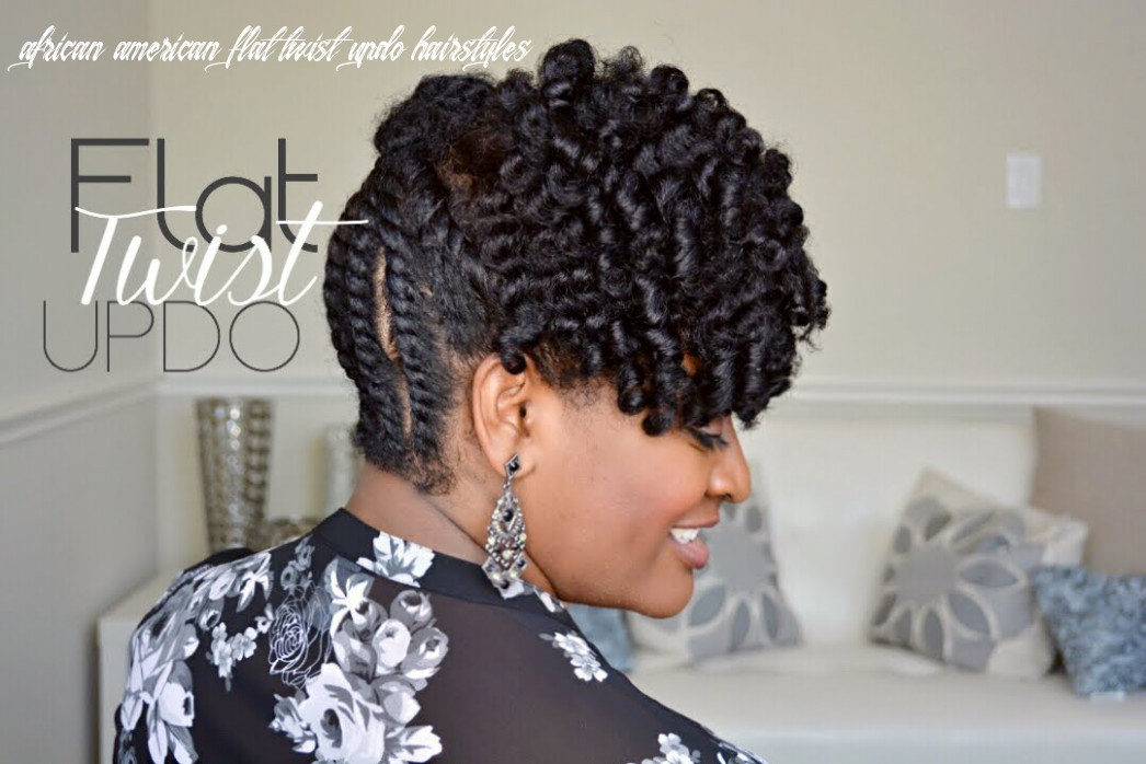 | 12 | Simple Flat Twist Updo on Natural Hair