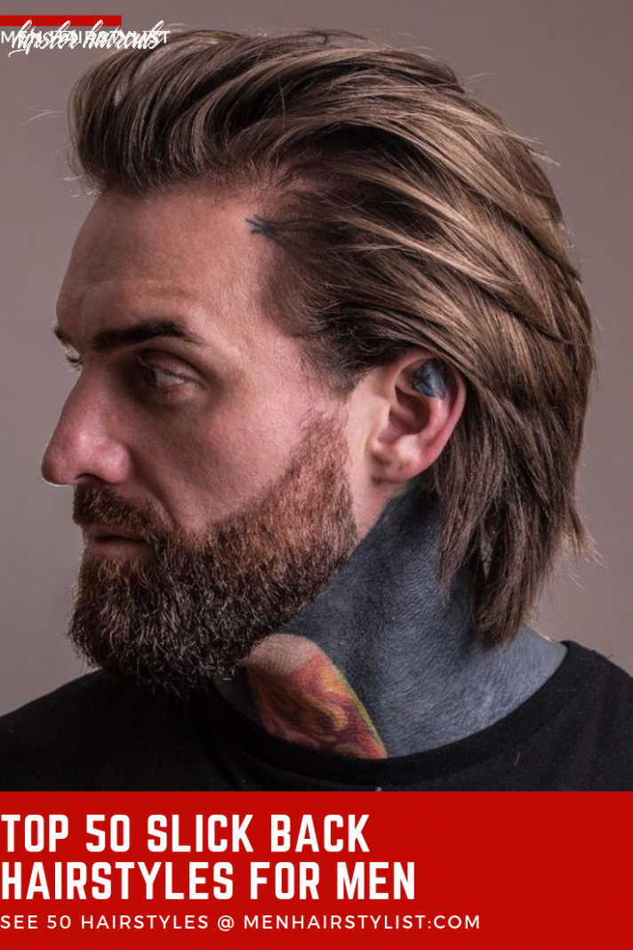 12 Slick Back Haircut Ideas for Smooth and Refined Men | Hipster ...