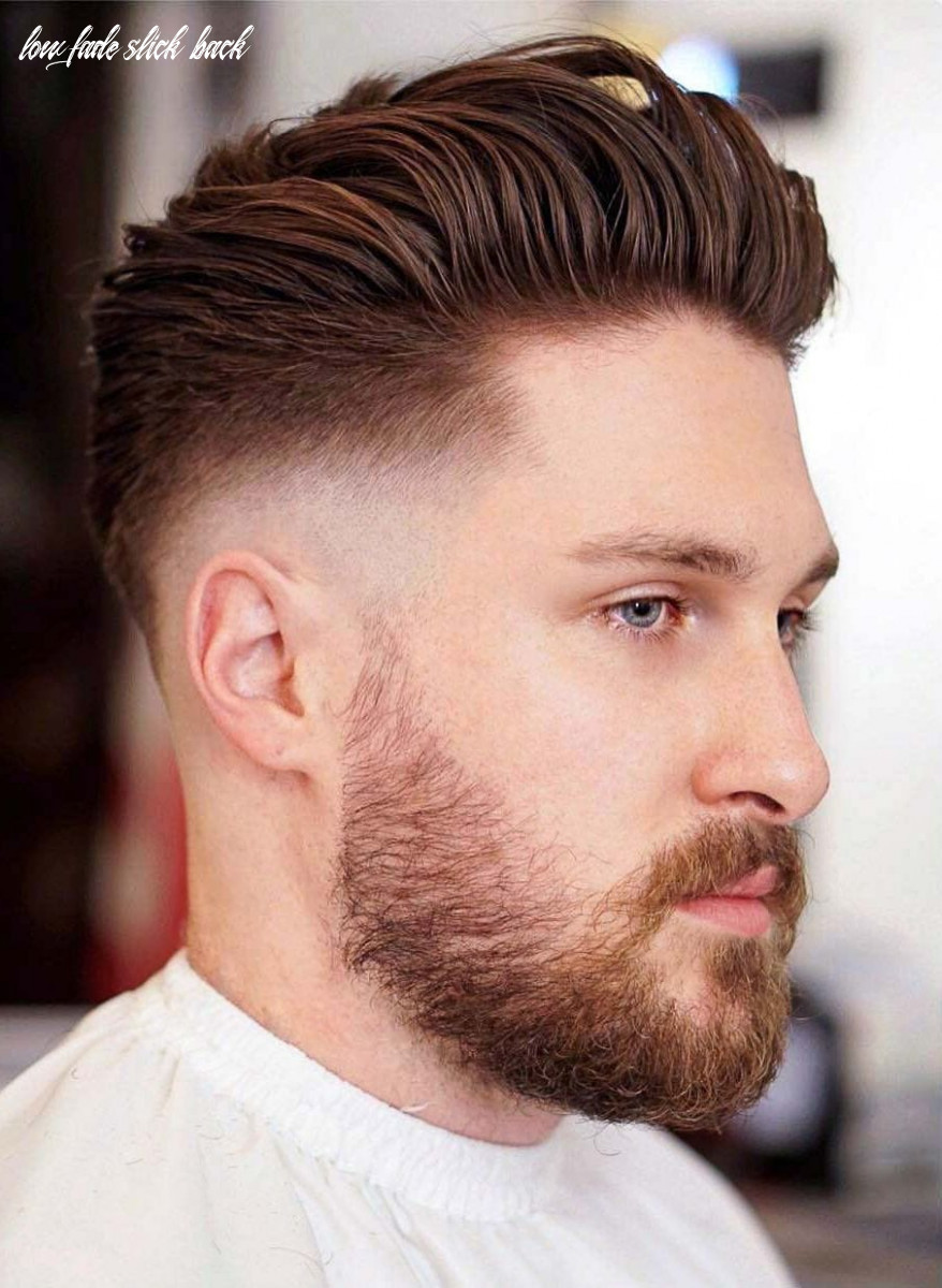 12 slicked back hairstyles: a classy style made simple guide low fade slick back