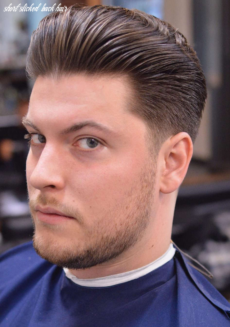 12 slicked back hairstyles: a classy style made simple guide short slicked back hair