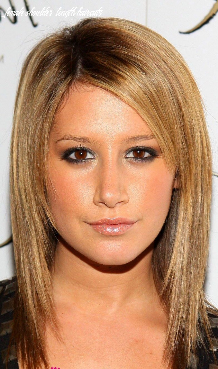 12 Female Shoulder Length Haircuts - Undercut Hairstyle