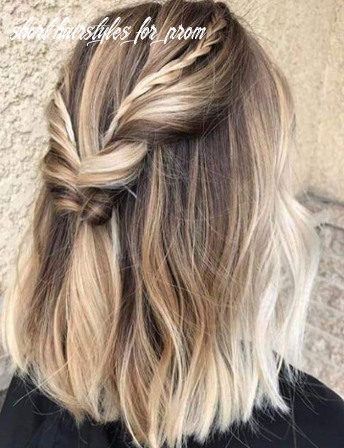12 stunning diy prom hairstyles for short hair short hairstyles for prom