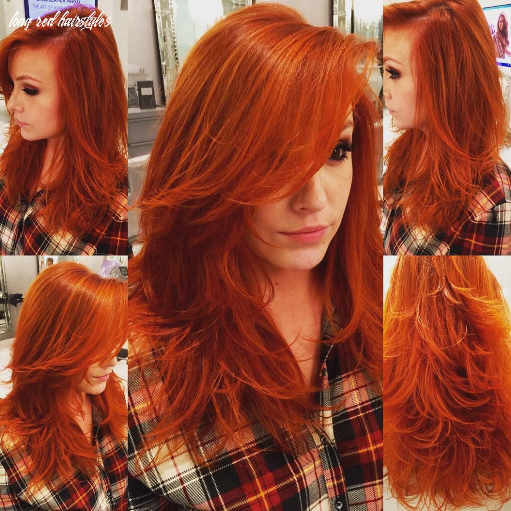 12 stunning new red hairstyles & haircut ideas for 12 redhead