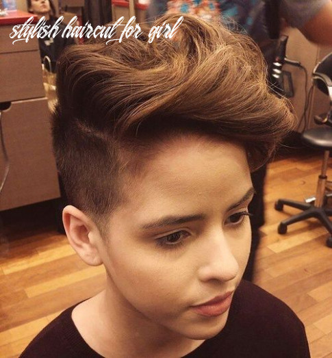 12 Stylish Hairstyles and Haircuts for Teenage Girls