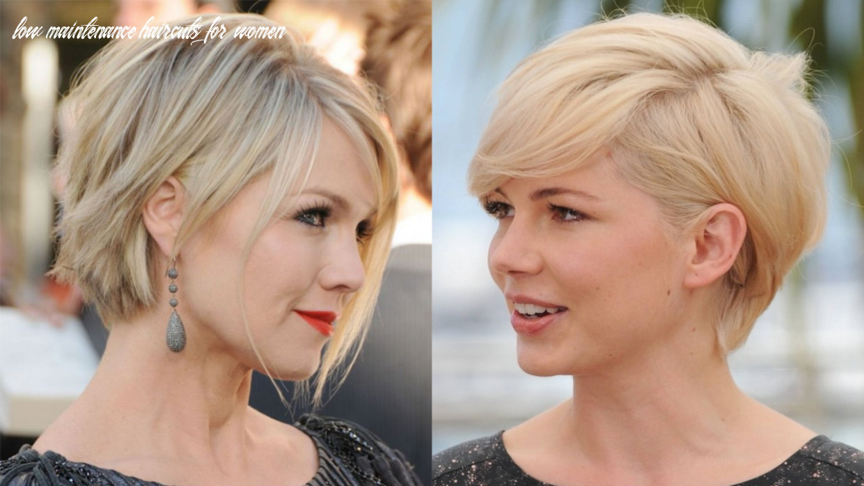 12 stylish low maintenance short hairstyles ideas for women