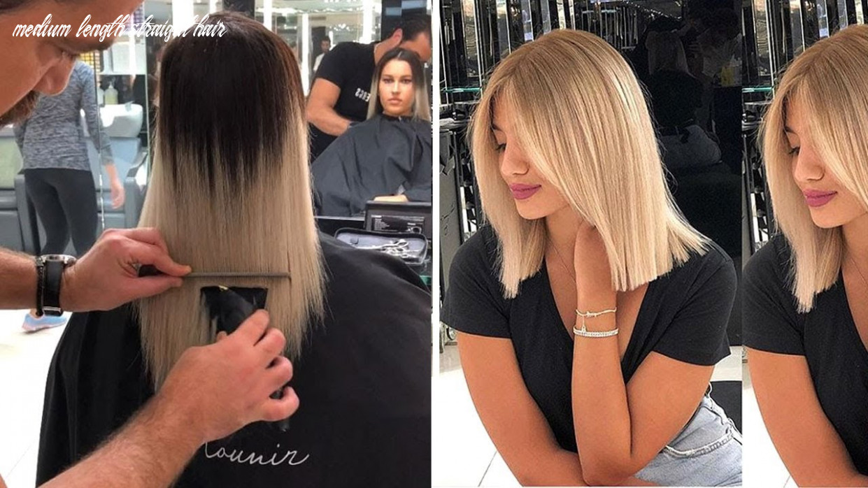 12 Super Cute Medium Haircuts - Shoulder-Length Haircuts To Show Your  Compilation