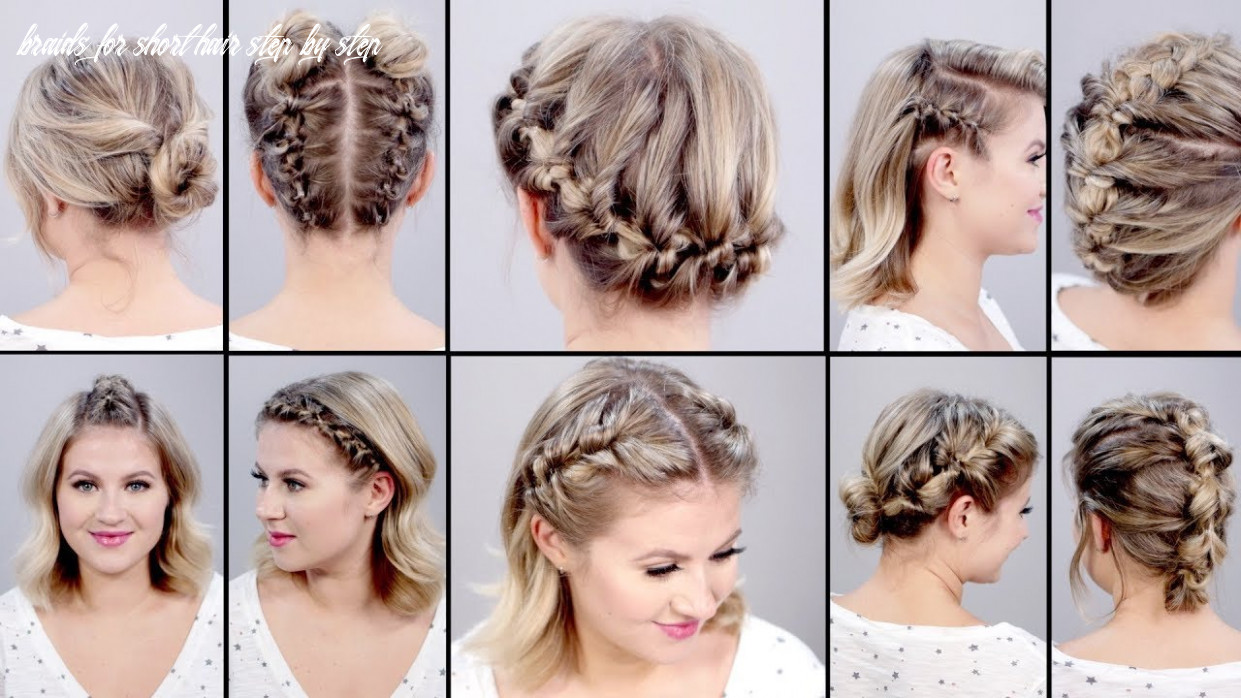12 SUPER EASY FAUX BRAIDED SHORT HAIRSTYLES: Topsy Tail Edition