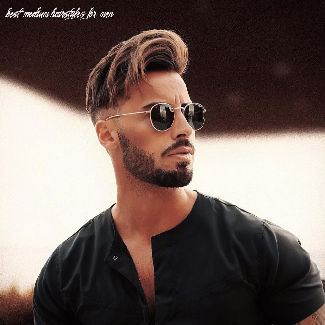 12 the best medium length hairstyles for men | hipster hairstyles