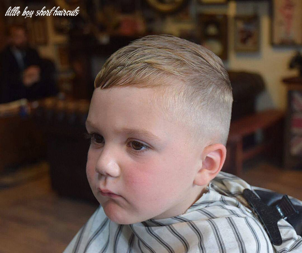12+ Toddler Boy Haircuts -> That Are Cute + Cool For 12