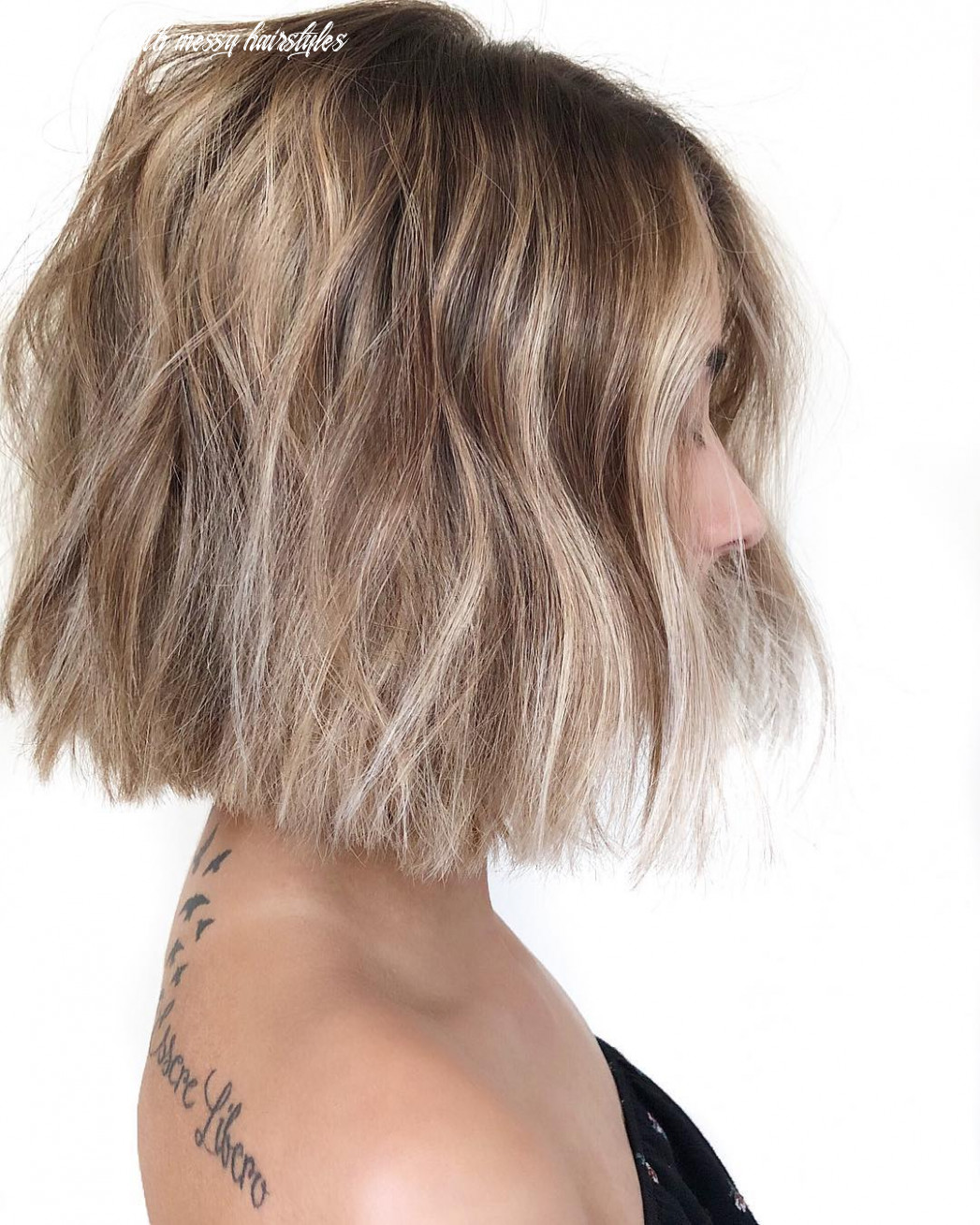 12 trendy messy bob hairstyles and haircuts, 12 female short