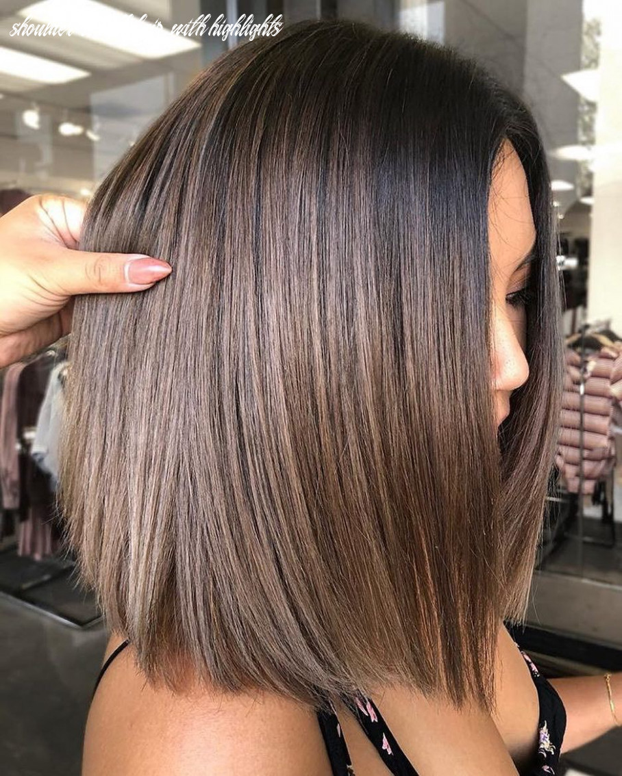 12 trendy ombre and balayage hairstyles for shoulder length hair