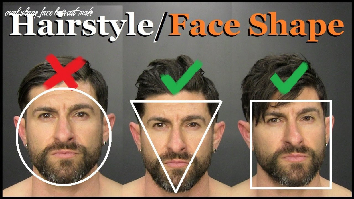 12 tricks to pick the best hairstyle for your face shape! oval shape face haircut male