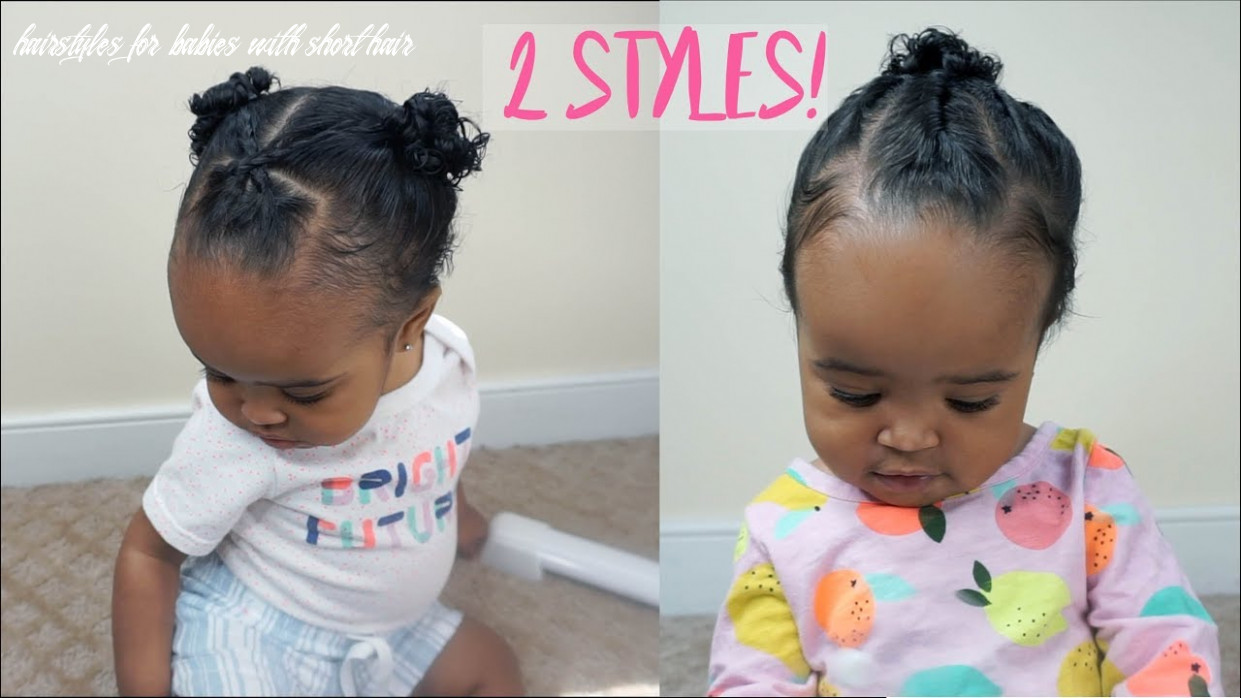 1222 cute and easy hairstyles for baby girls   zara's 122st birthday special part 122 hairstyles for babies with short hair