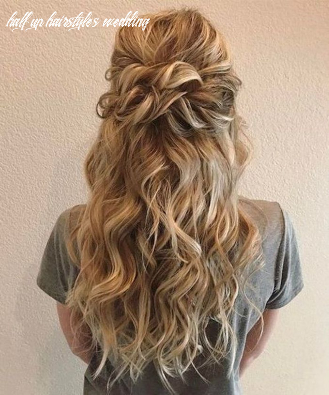 8 beautiful half up half down hairstyles for the modern bride ...