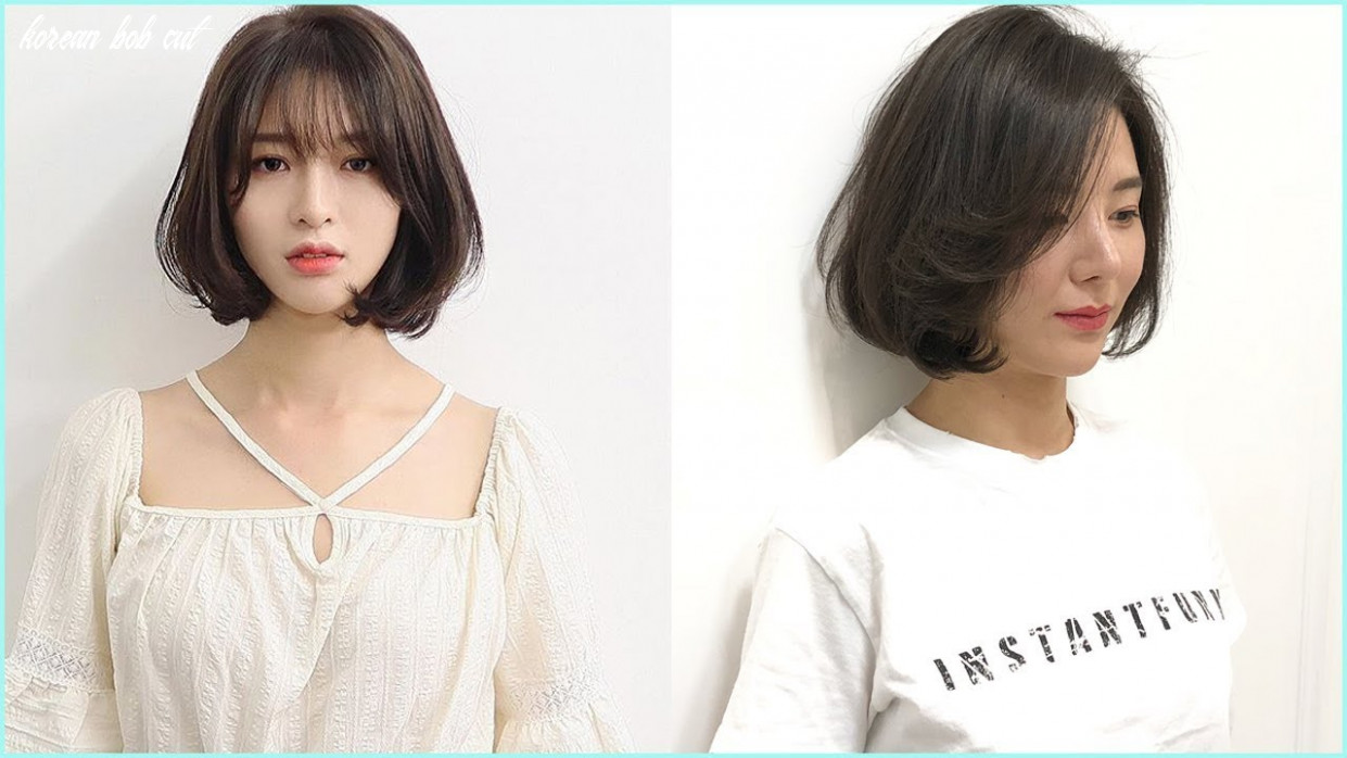 8 Korean Bob Cut - Undercut Hairstyle