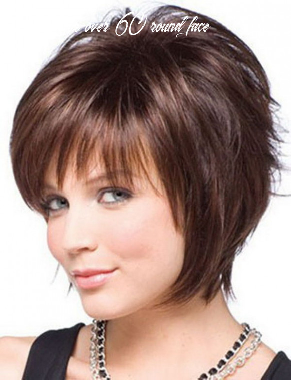 8 Beautiful Short Haircuts for Round Faces 8