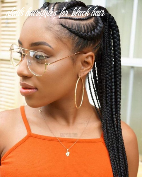 8 best black braided hairstyles that turn heads in 8 plaits hairstyles for black hair