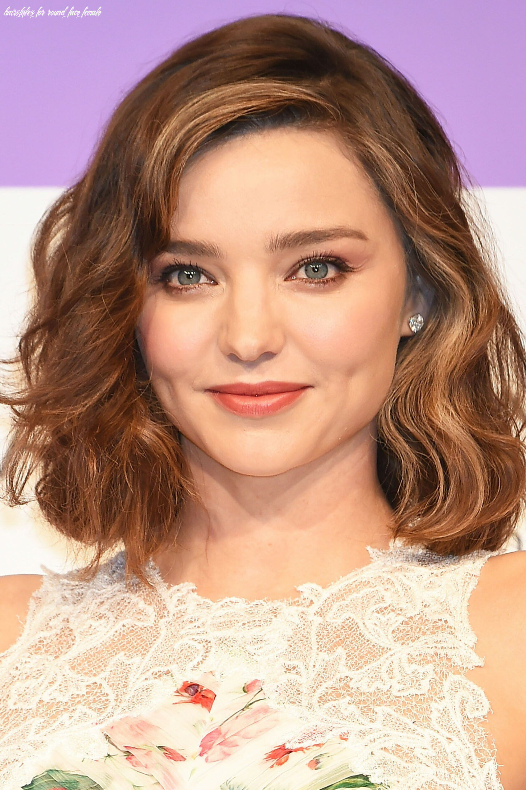 8 best hairstyles for round faces in 8 easy haircut ideas