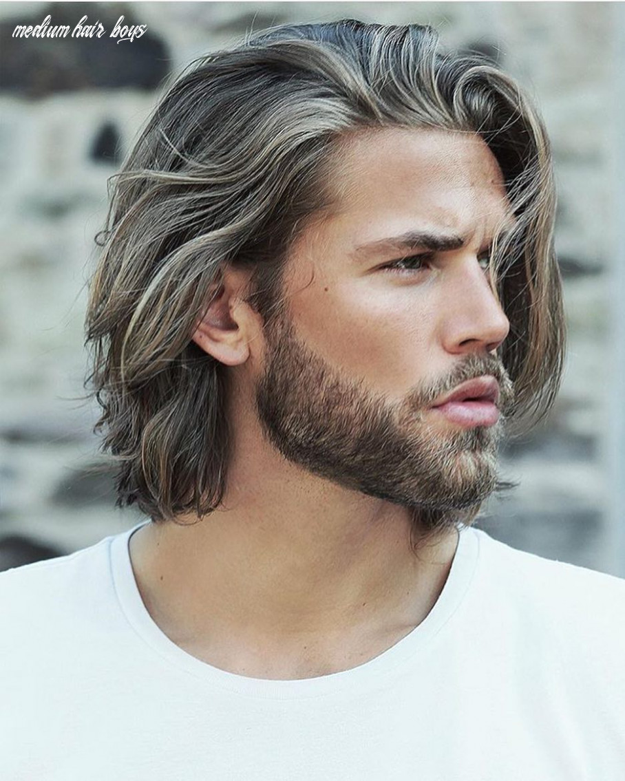8 best medium length hairstyles and haircuts for men 8