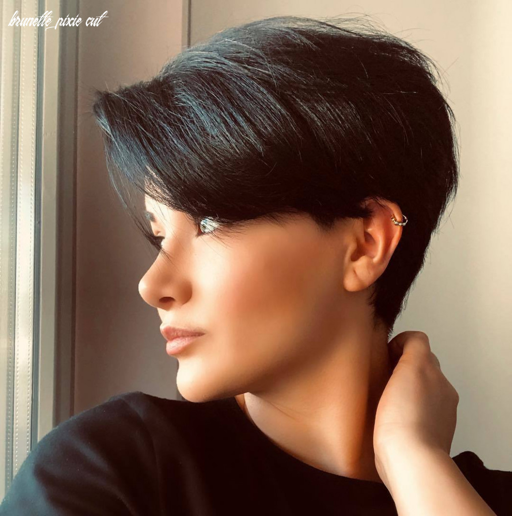 8 best pixie cut hairstyles for 8 you will want to see brunette pixie cut