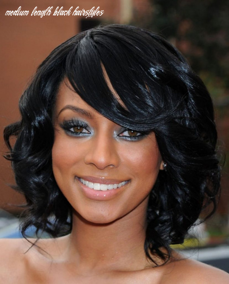 8 black hairstyles for medium length hair haircuts & hairstyles