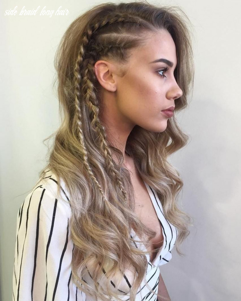 8 braid hairstyles that look awesome   side braids for long hair