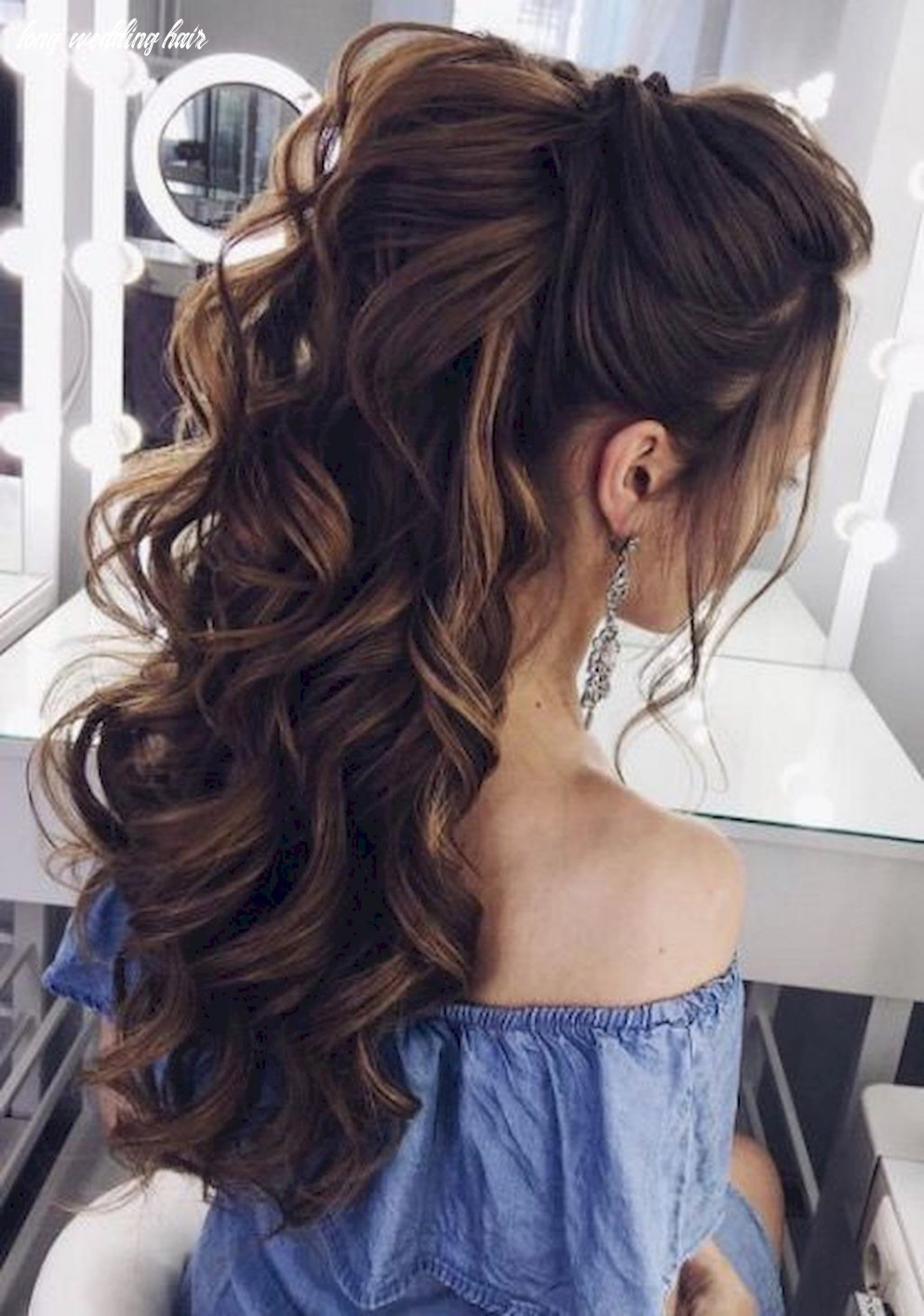 8 bridal wedding hairstyles for long hair that will inspire