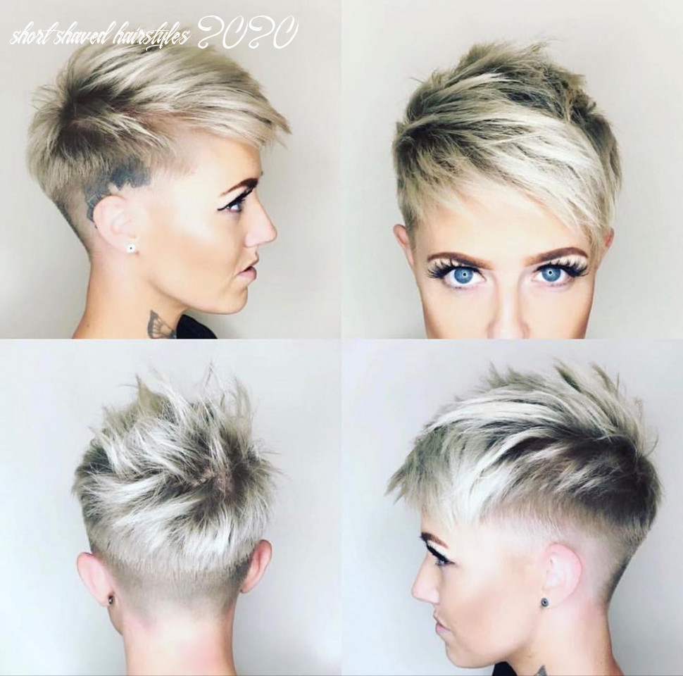 8 chic shaved haircuts for short hair 8 | edgy pixie haircuts