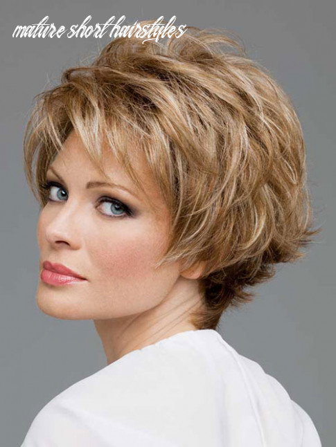 8 Classy Short Hairstyles for Mature Women - Haircut Today