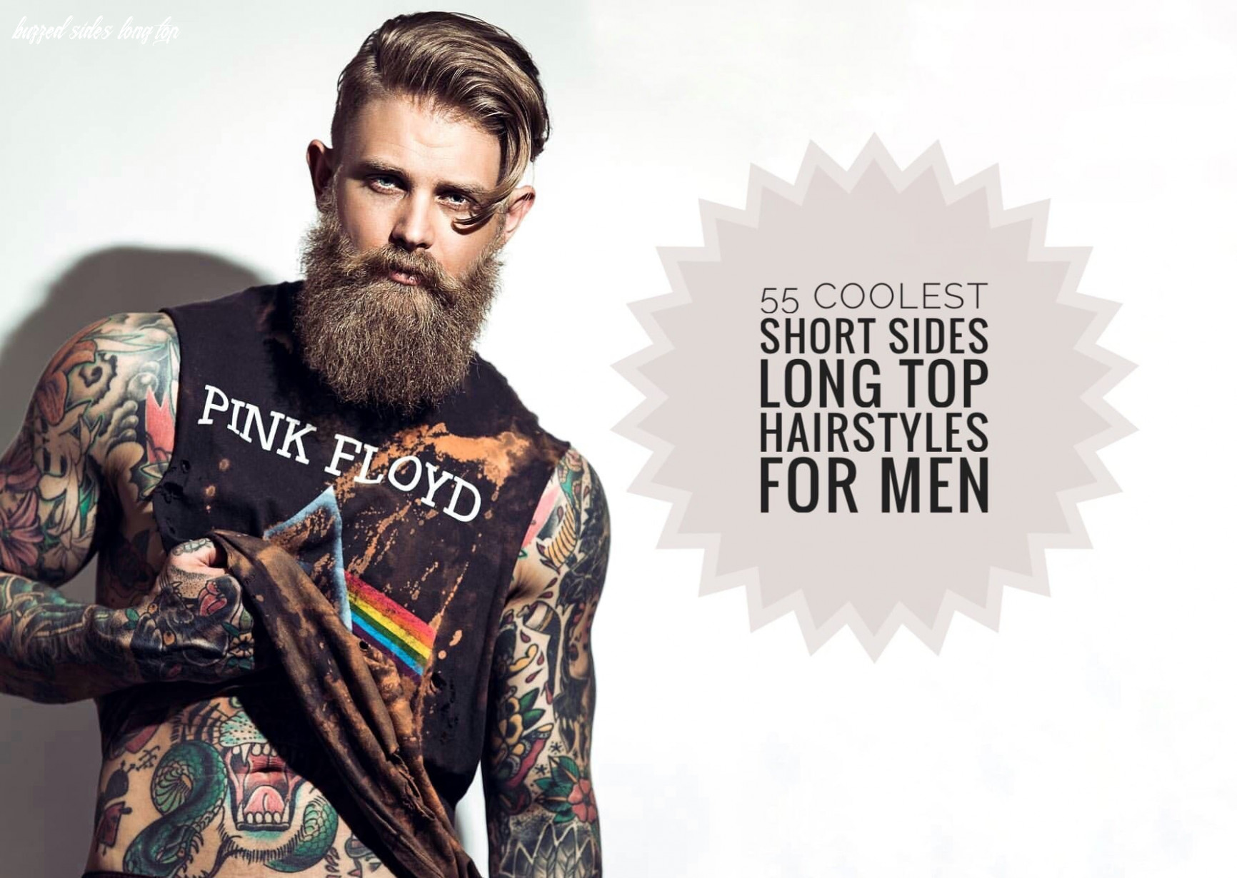 8 Coolest Short Sides Long Top Hairstyles for Men - Men ...