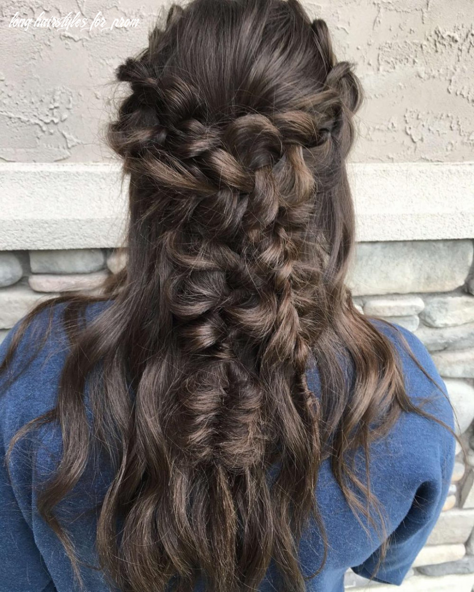 8 Cute & Easy Prom Hairstyles for Long Hair for 8