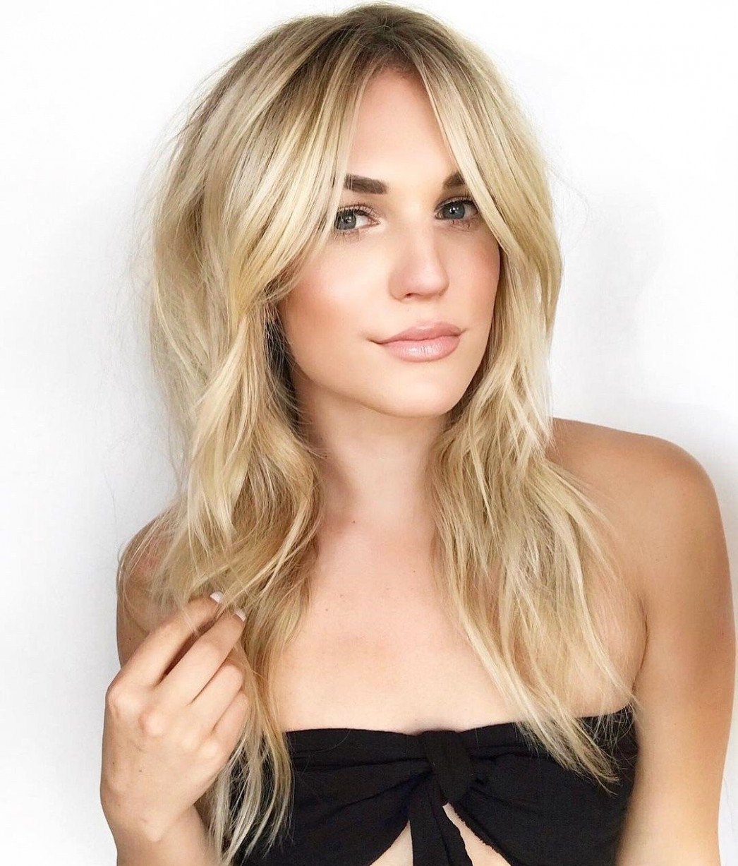 8 Devastatingly Cool Haircuts for Thin Hair (With images) | Long ...