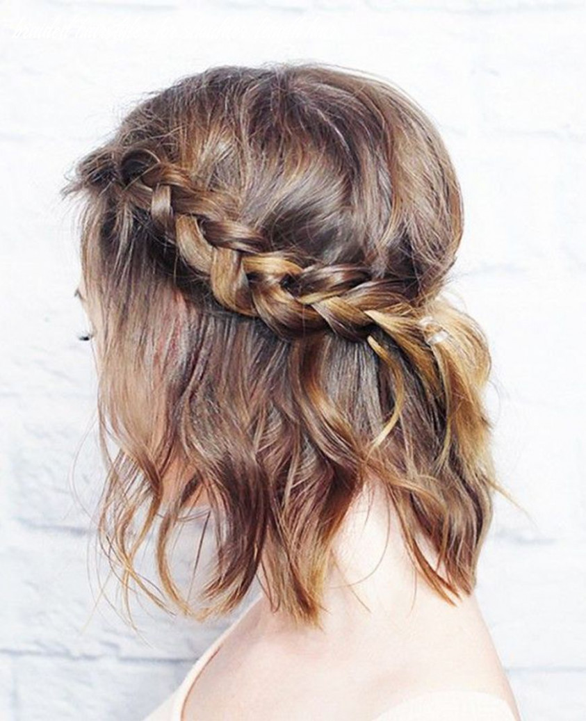 8 easy summer braids | braids for short hair, hair lengths, hair