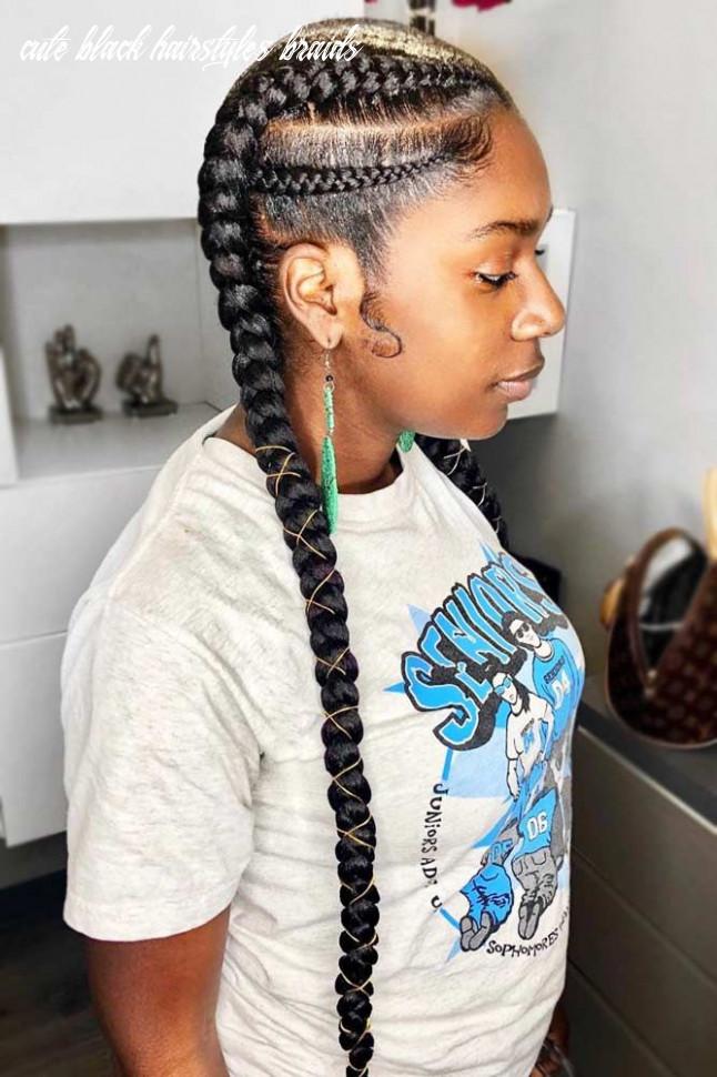 8 enviable ways to rock the latest black braided hairstyles (with