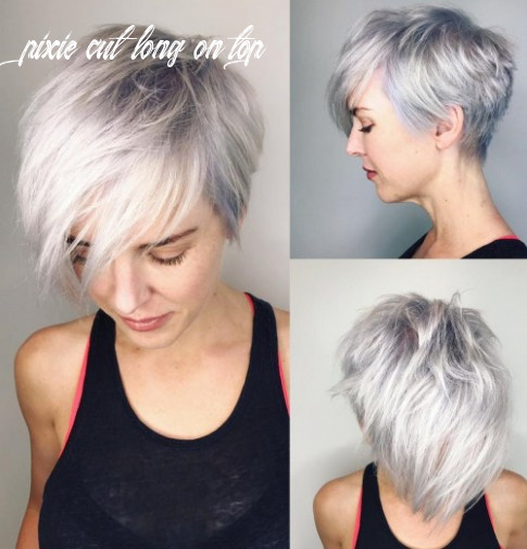 8 gorgeous long pixie hairstyles pixie cut long on top